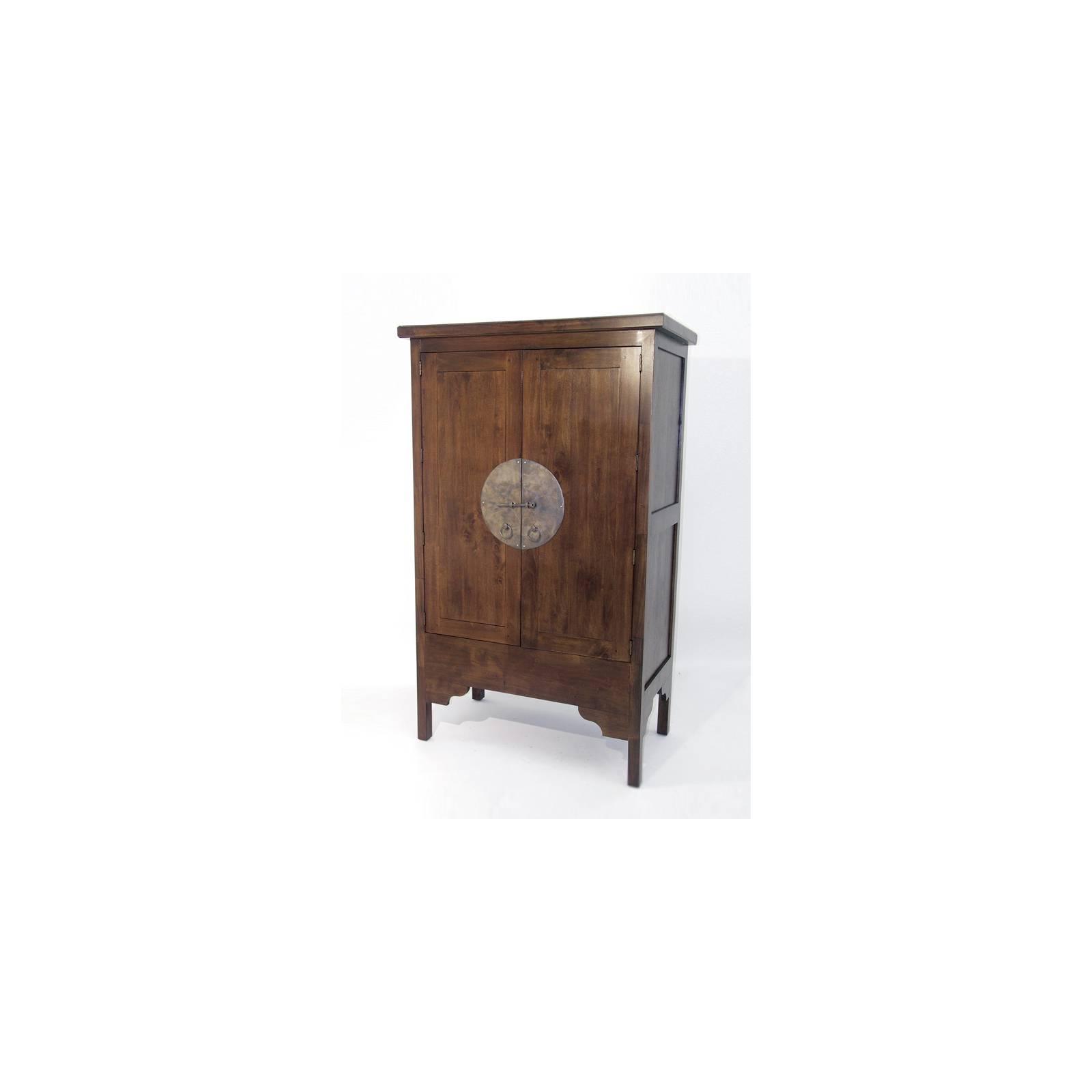 Armoire Chine Hévéa - meuble bois exotique