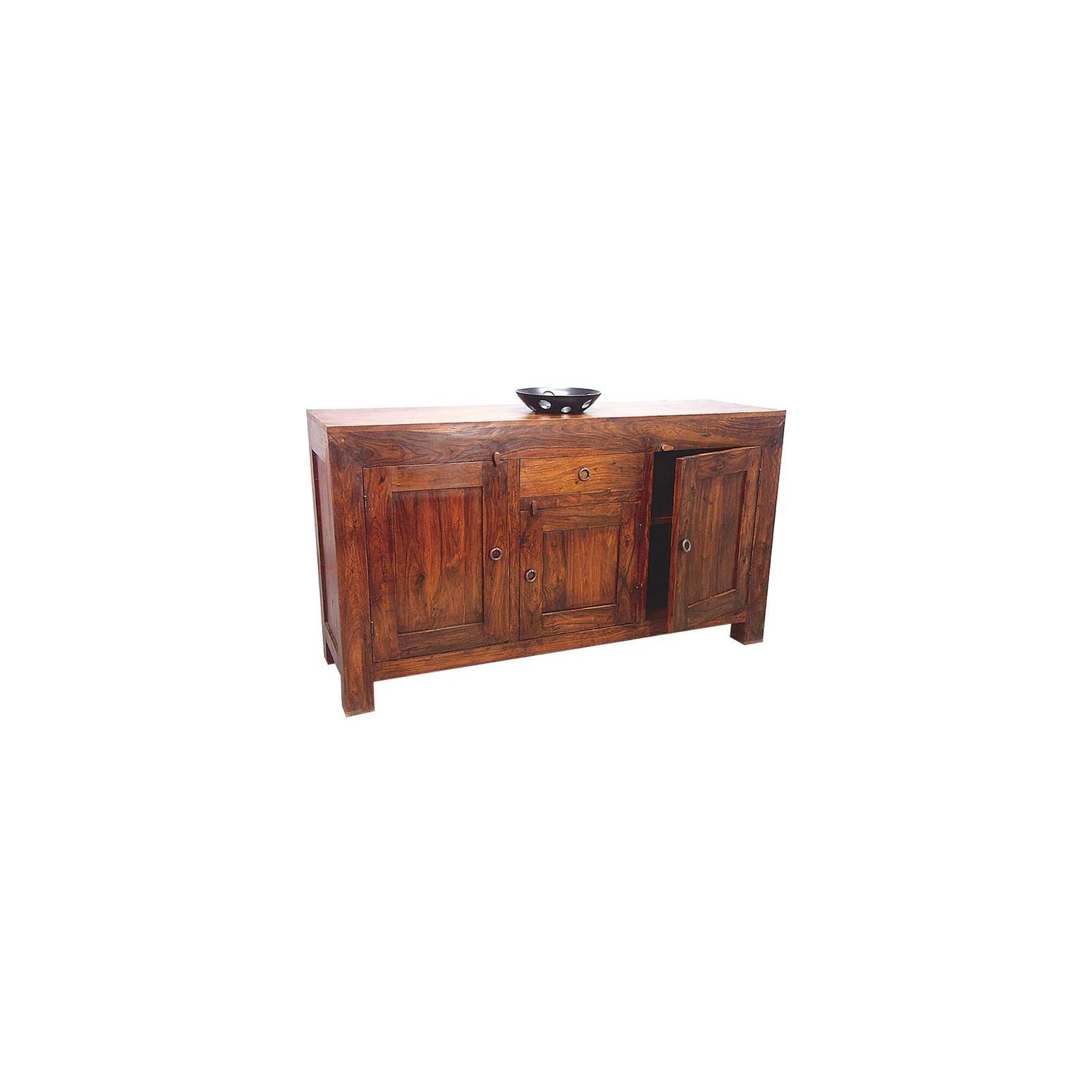 Bahut Zen Palissandre - meubles bois exotique