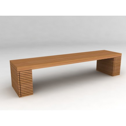 Banc GM Vicio Teck - ensemble de jardin design