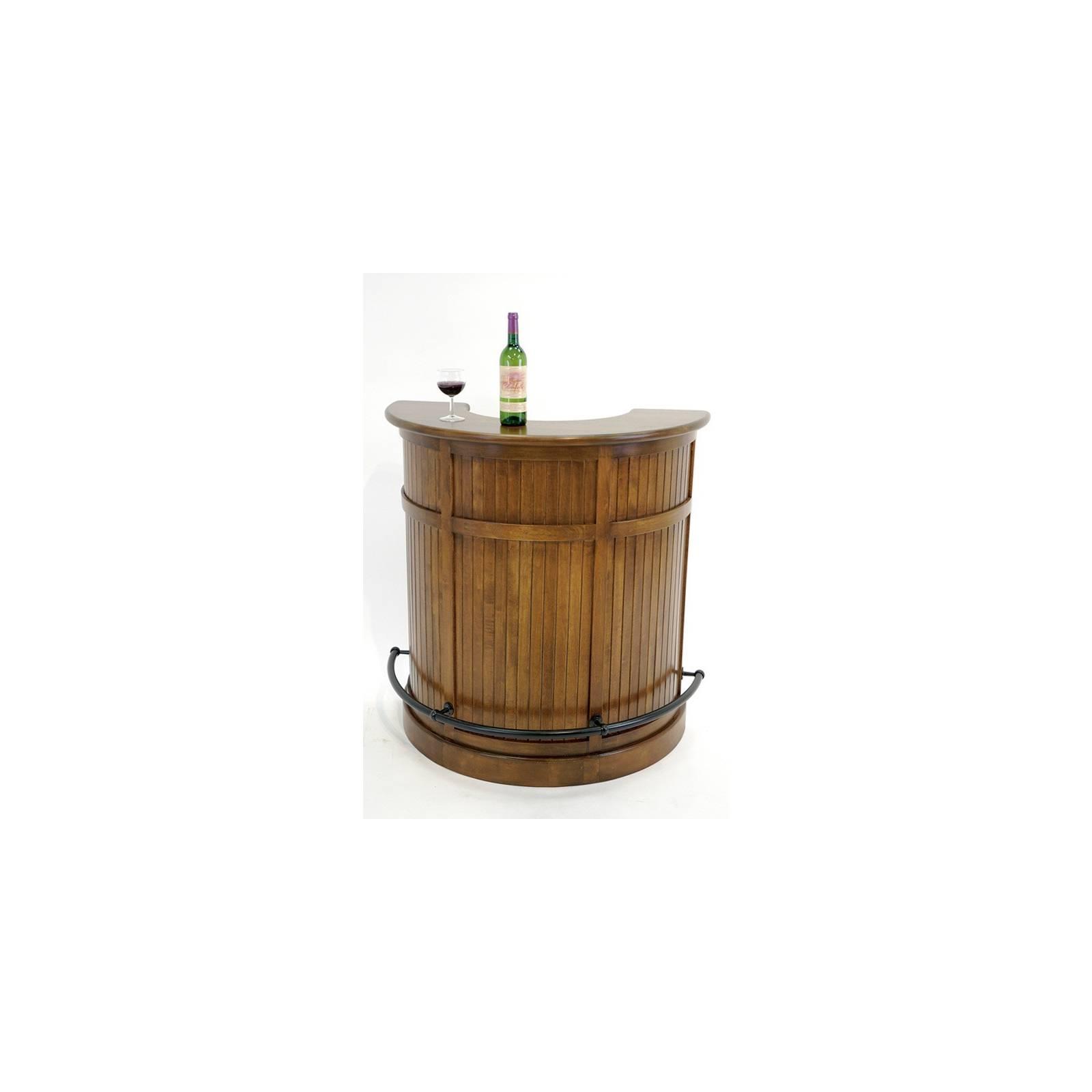 Bar 1/2 Lune Tradition Hévéa - meuble style classique