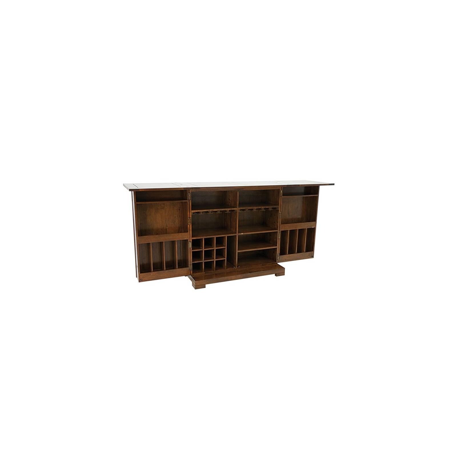 Bar Horizon Hévéa - meuble style ethnique