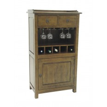 Bar Tradition Hévéa - meuble style classique