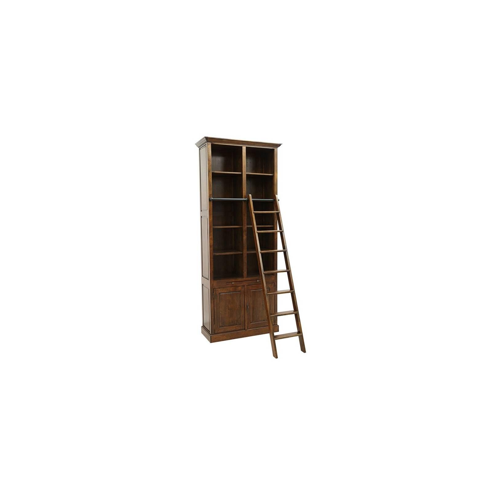 Bibliothèque Belle Époque Hévéa - meuble style classique