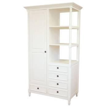 Bibliothèque Charme Hévéa - meuble style classique