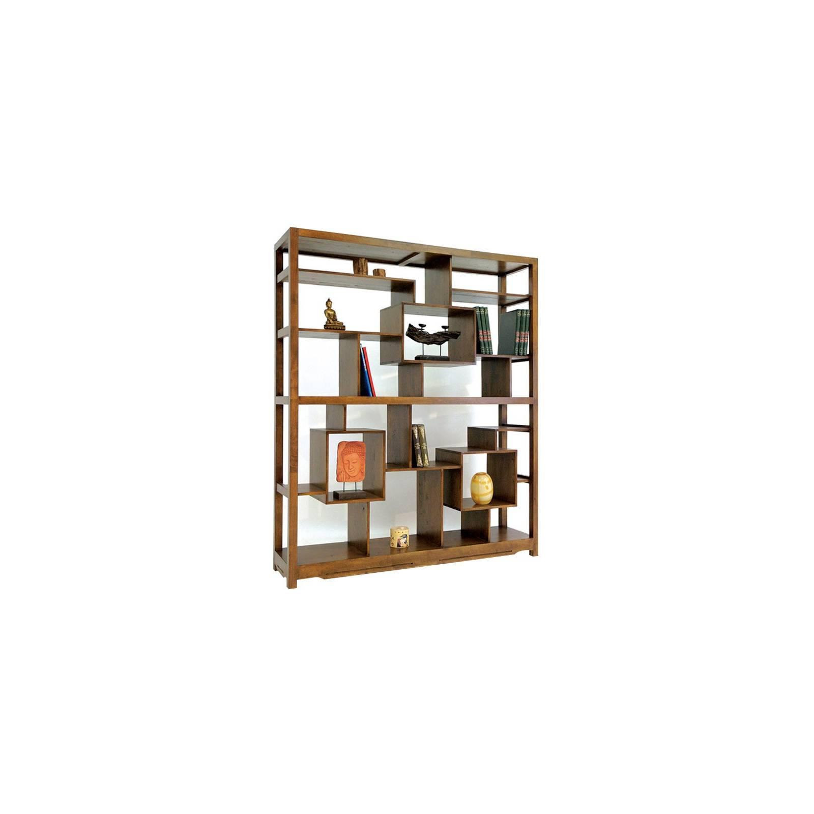 Étagère Double Face Omega Hévéa - meuble style design