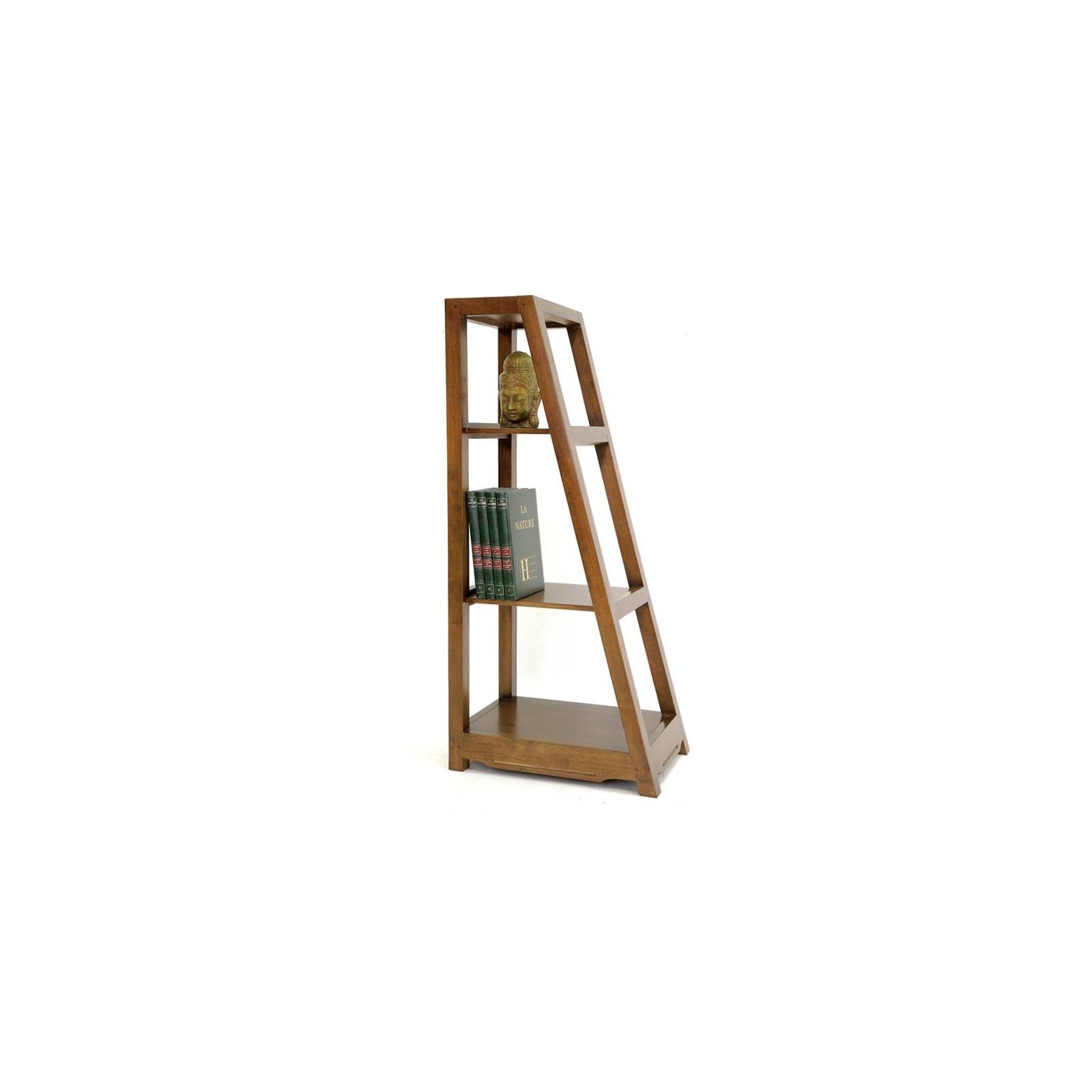 Étagère Pyramidale Omega Hévéa - meuble style design