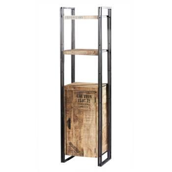 Déco style industriel : meubles Factory en bois d\'acacia