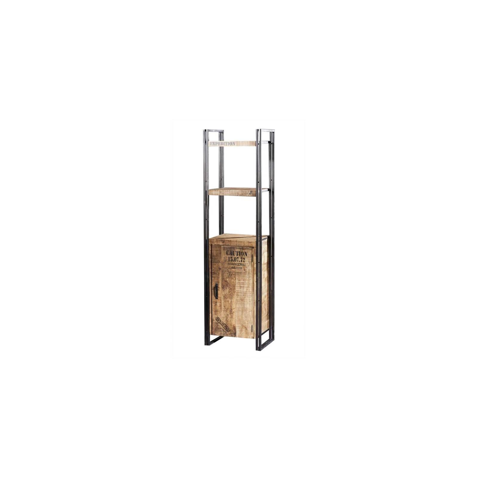 Étagère Factory Acacia - meuble style industriel