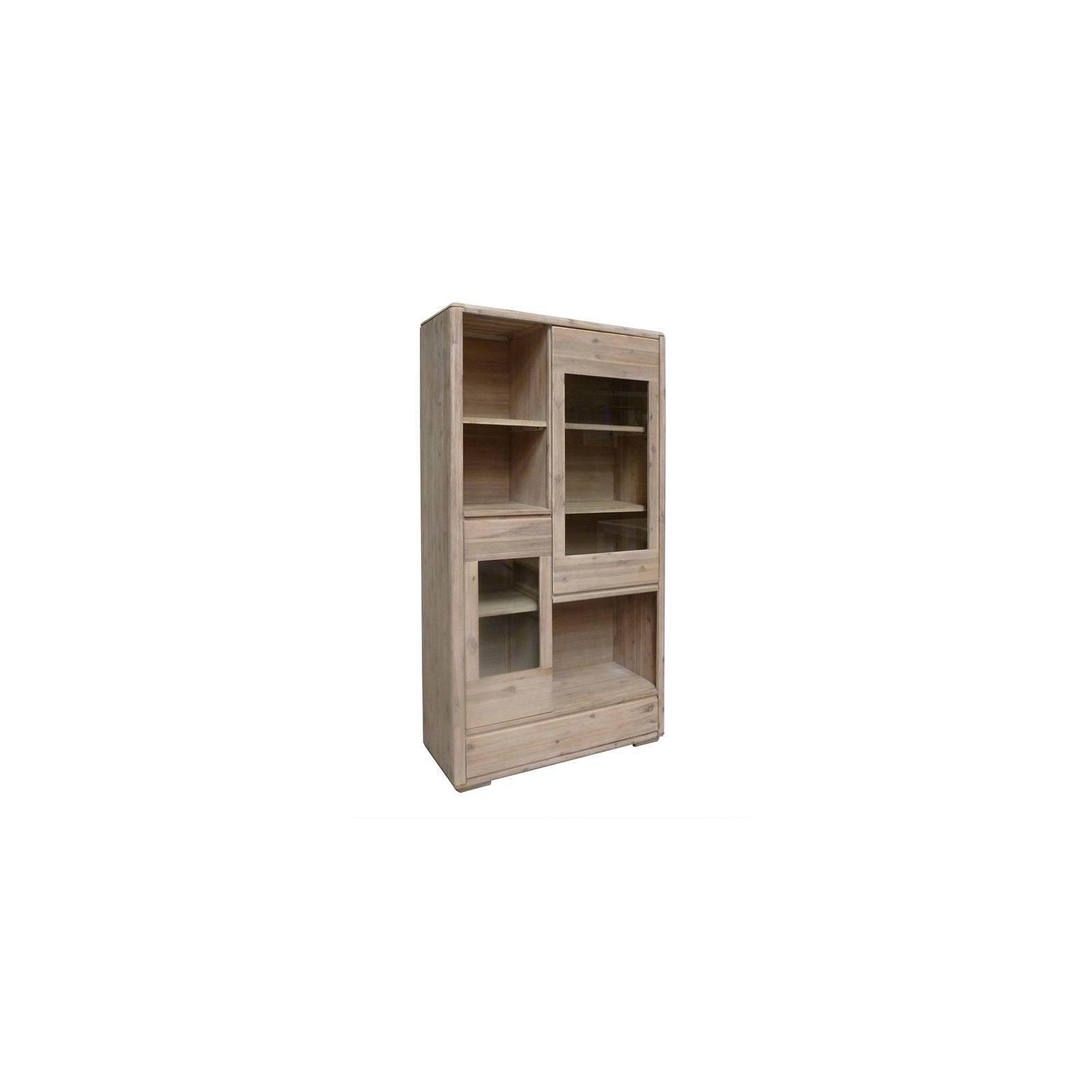 Bibliothèque Design Joëlle Acacia - meuble en bois massif