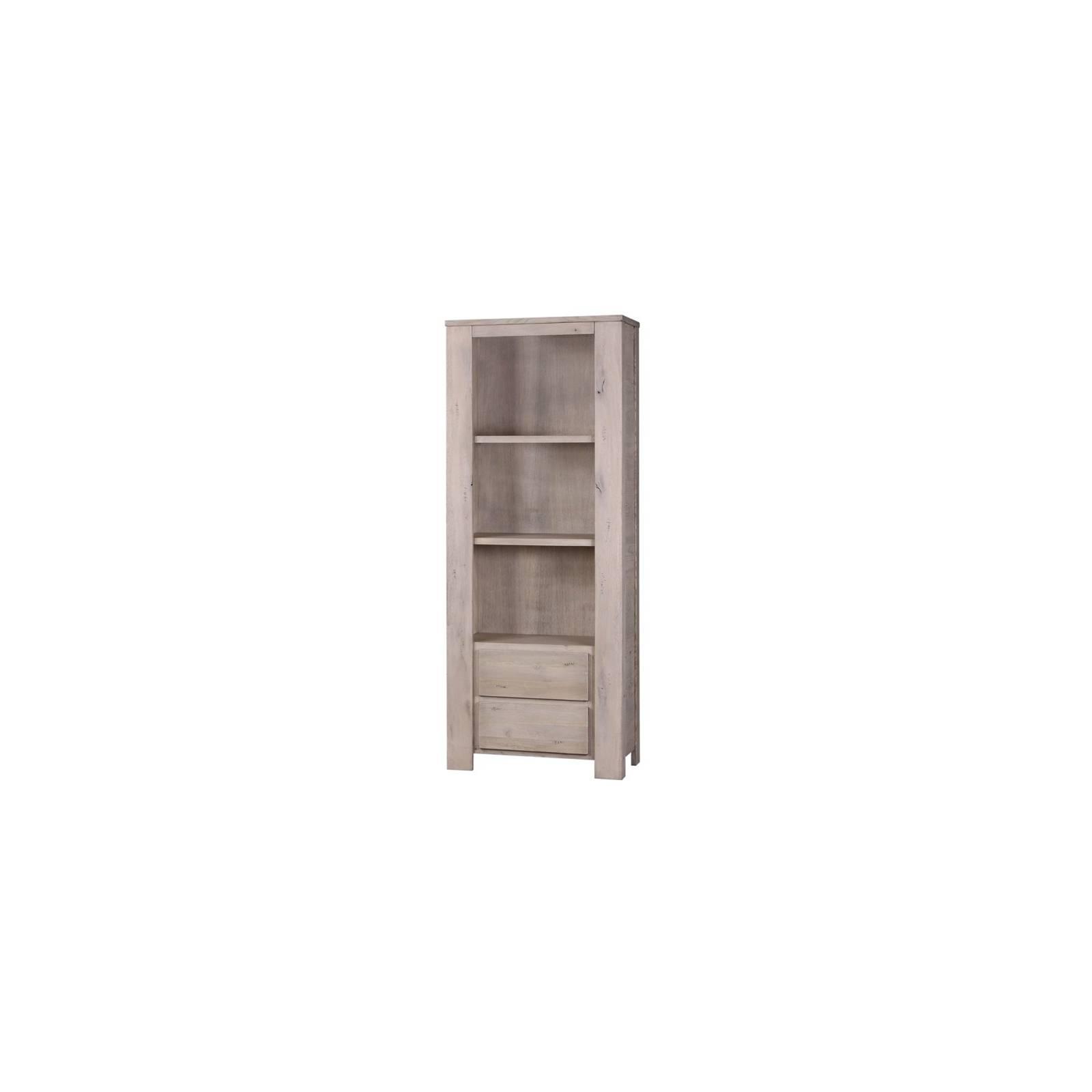 Bibliothèque Milena Grigia Chêne - meuble style design
