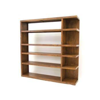 Bibliothèque Zen Palissandre - meubles bois exotique