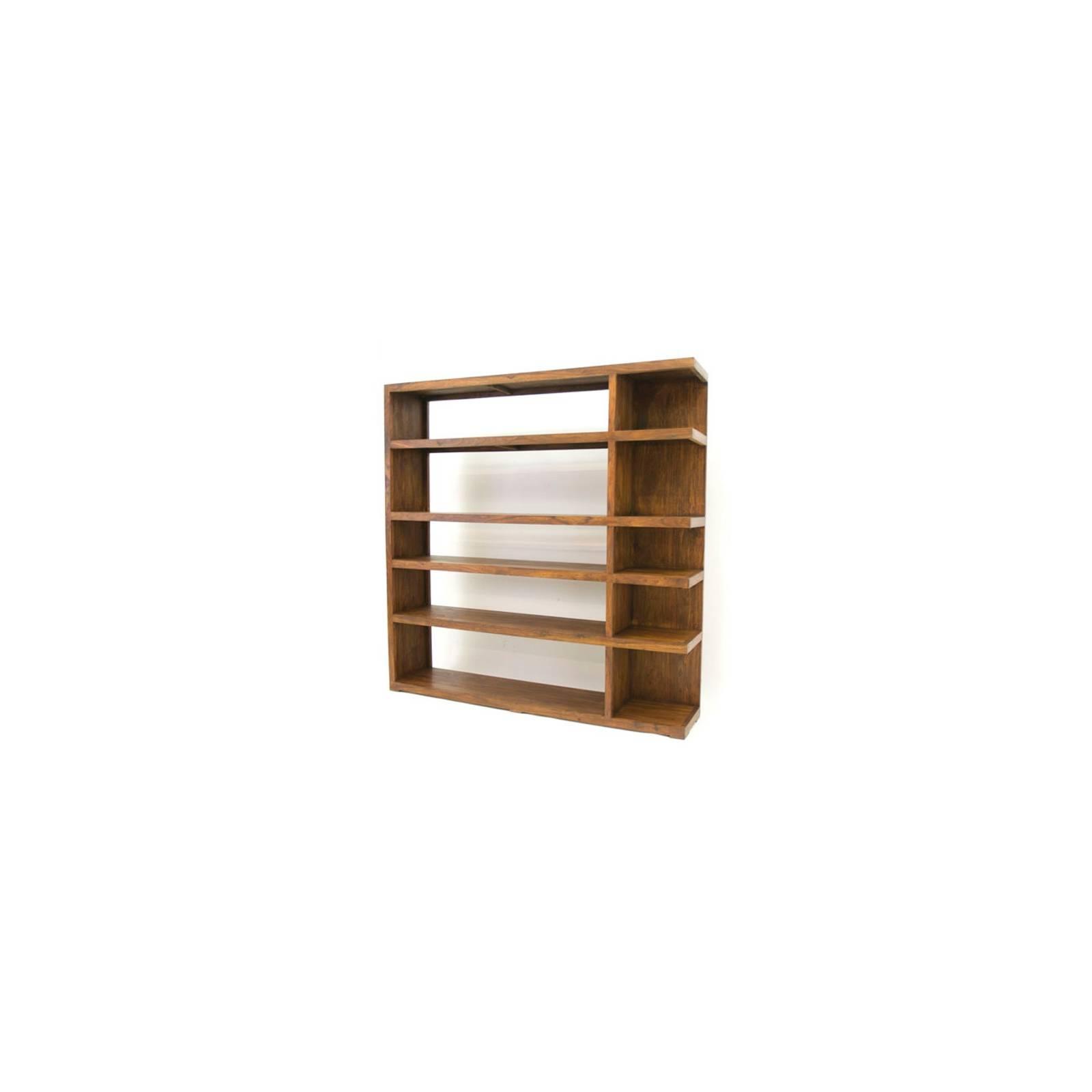 Bibliothèque Palissandre Zen - meubles bois exotique
