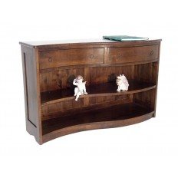 Bibus Console Vague Oceania Hévéa - meuble style colonial