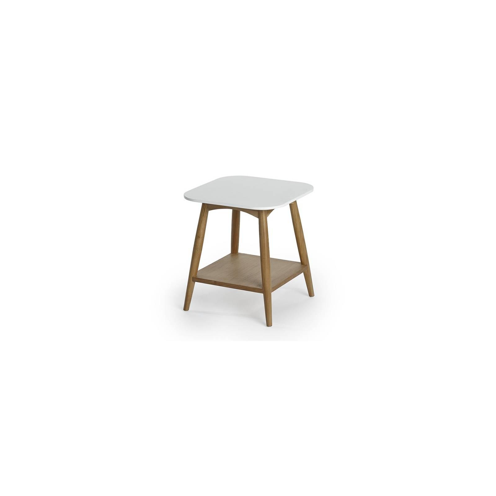 Bout De Canapé 57 Teck - meuble bois massif