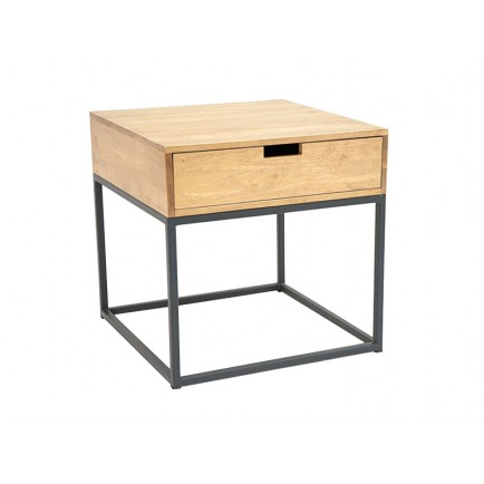 Bout De Canapé Berlin Hévéa - meuble bois exotique