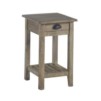 Bout De Canapé Petit Modèle Vendôme Manguier - meuble classique
