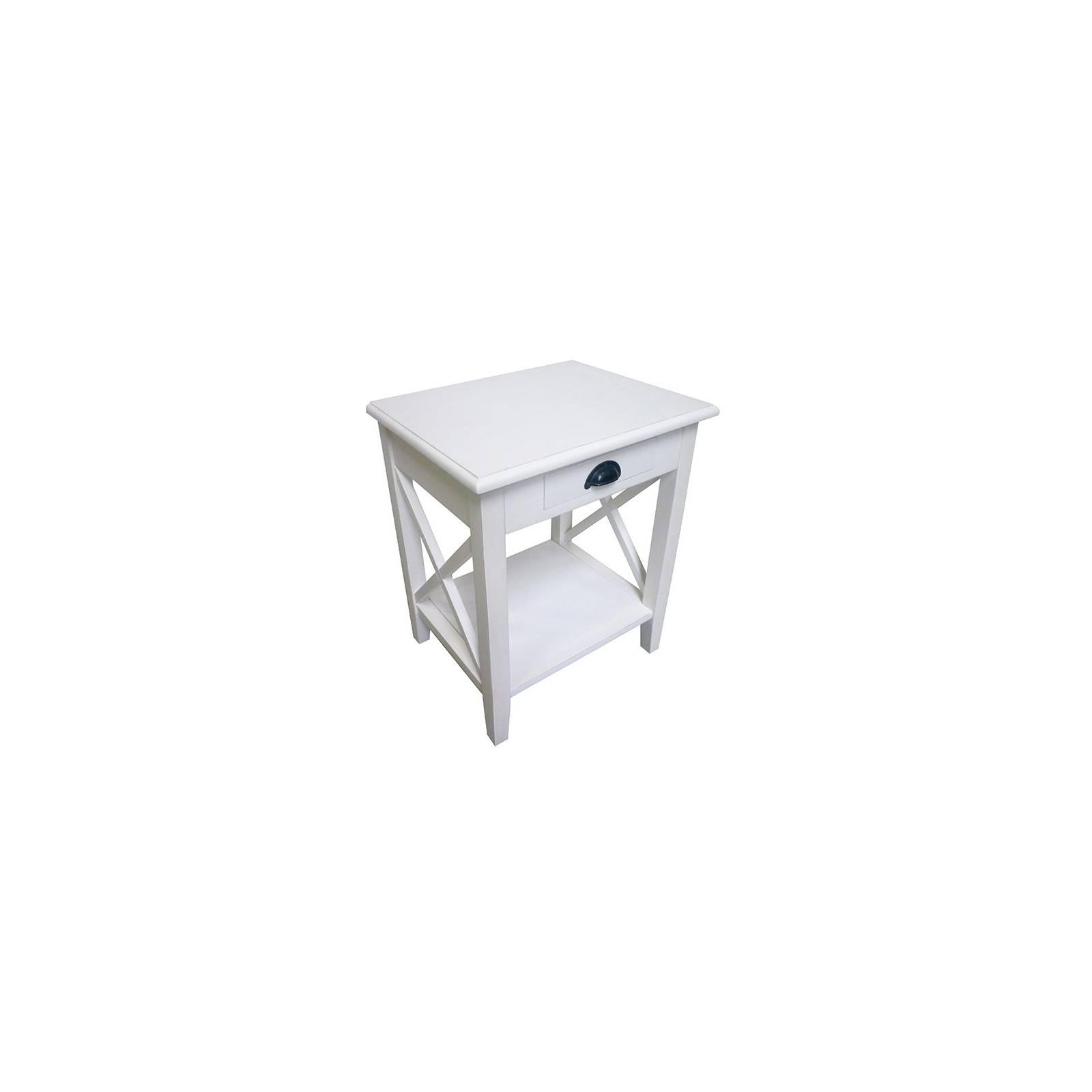 Bout De Canapé Pin Camille - achat meuble au style classique