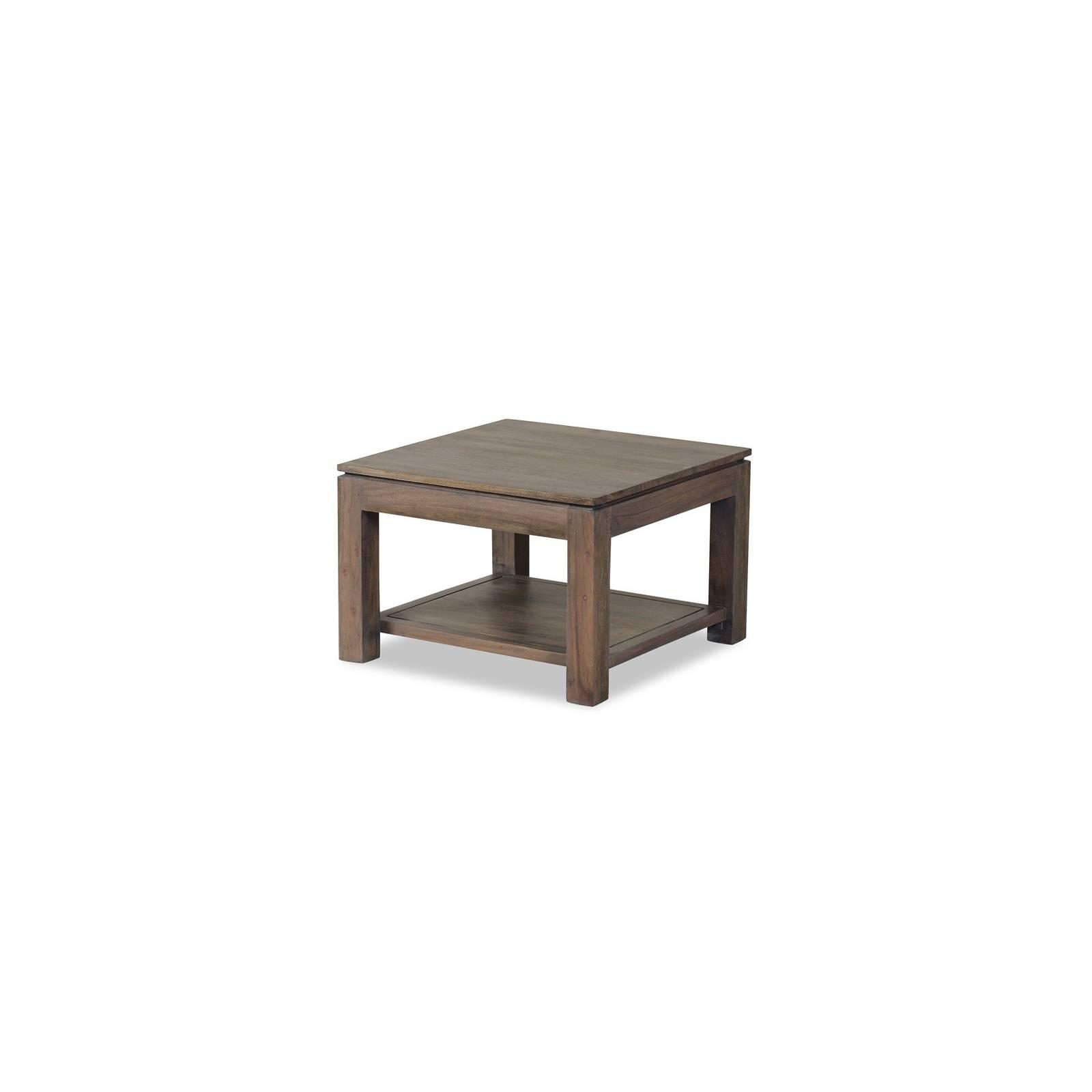 Bout De Canapé Tara Grisée Acacia - meuble design haut de gamme