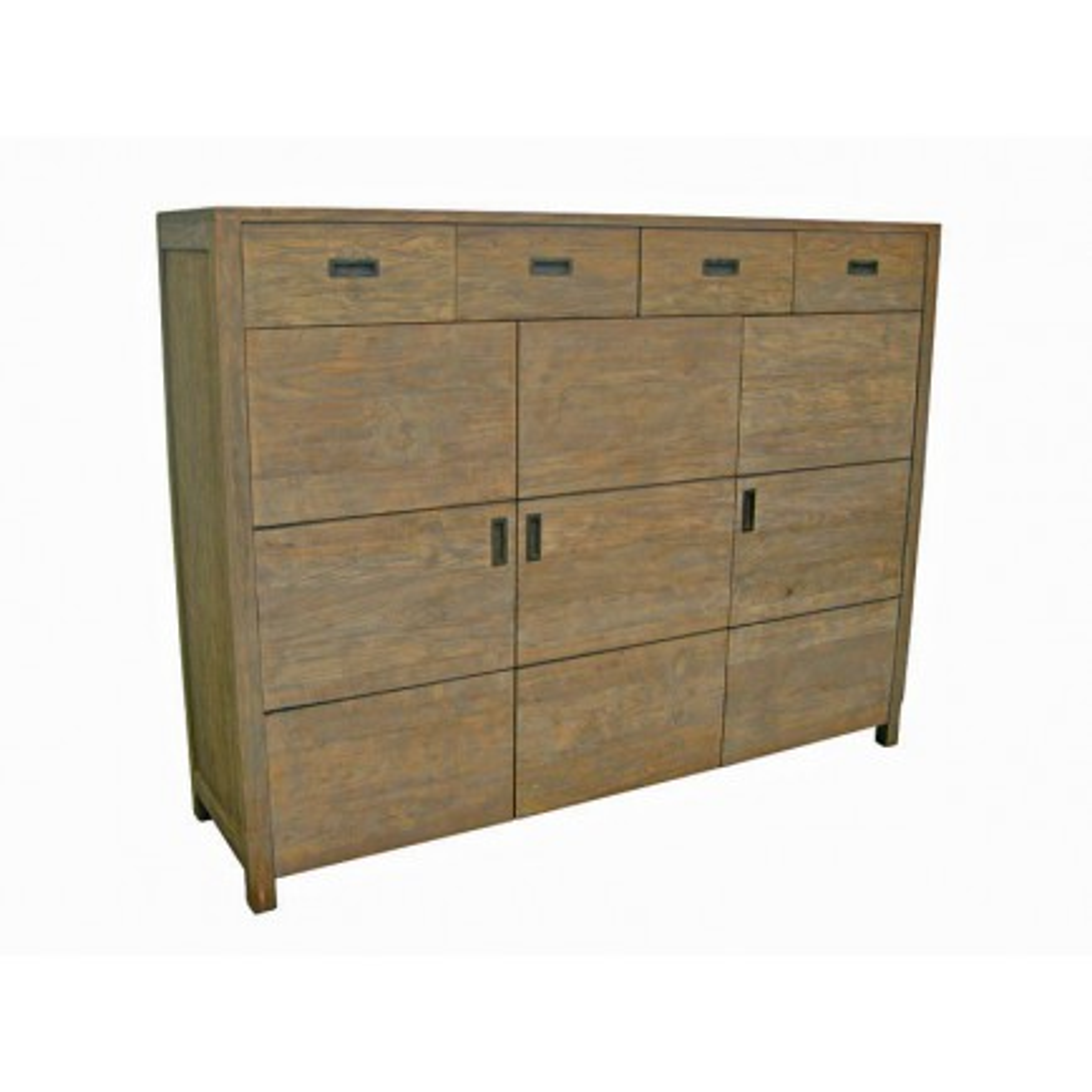 Buffet Haut Felix Teck Recyclé - meuble bois massif