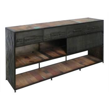 Buffet Luxor Teck - meuble bois massif