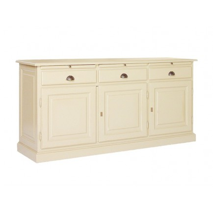 Buffet Romantique Victoria Pin Massif - meuble shabby chic