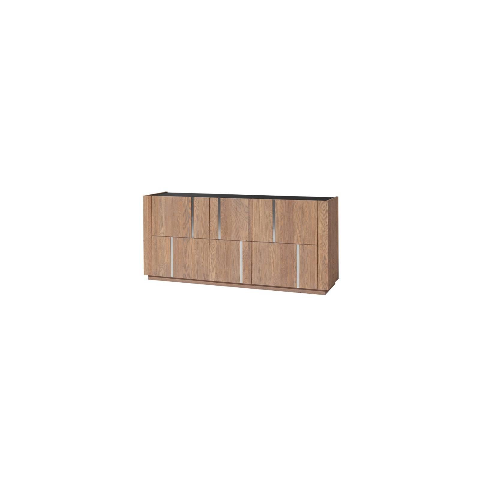 Buffet Petit Modèle Bas Capri Chêne - meuble chêne massif