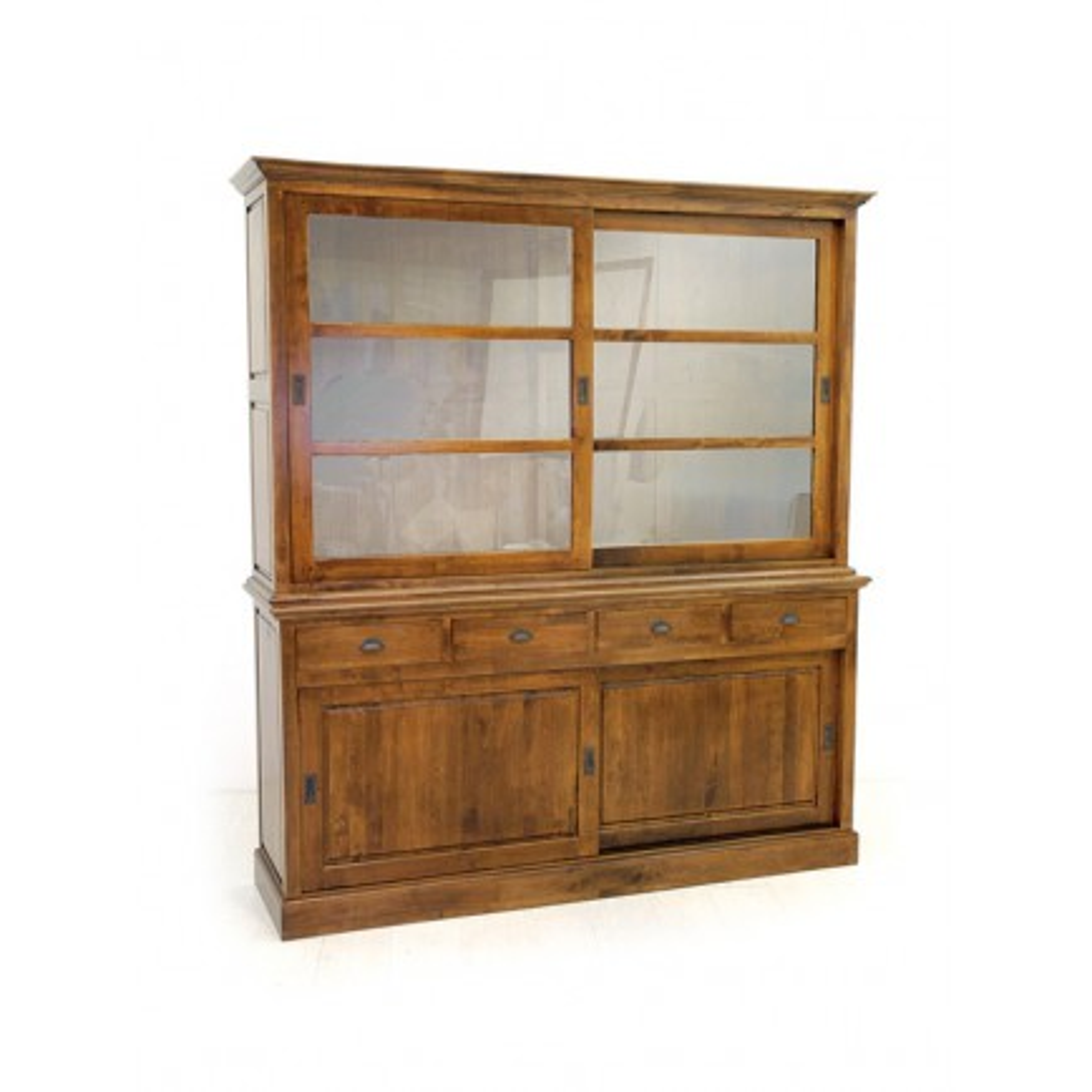 Buffet Vitré Tradition Hévéa - meuble style classique