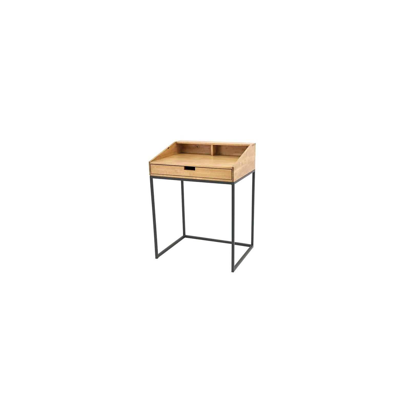 Bureau Berlin Hévéa - meuble bois exotique