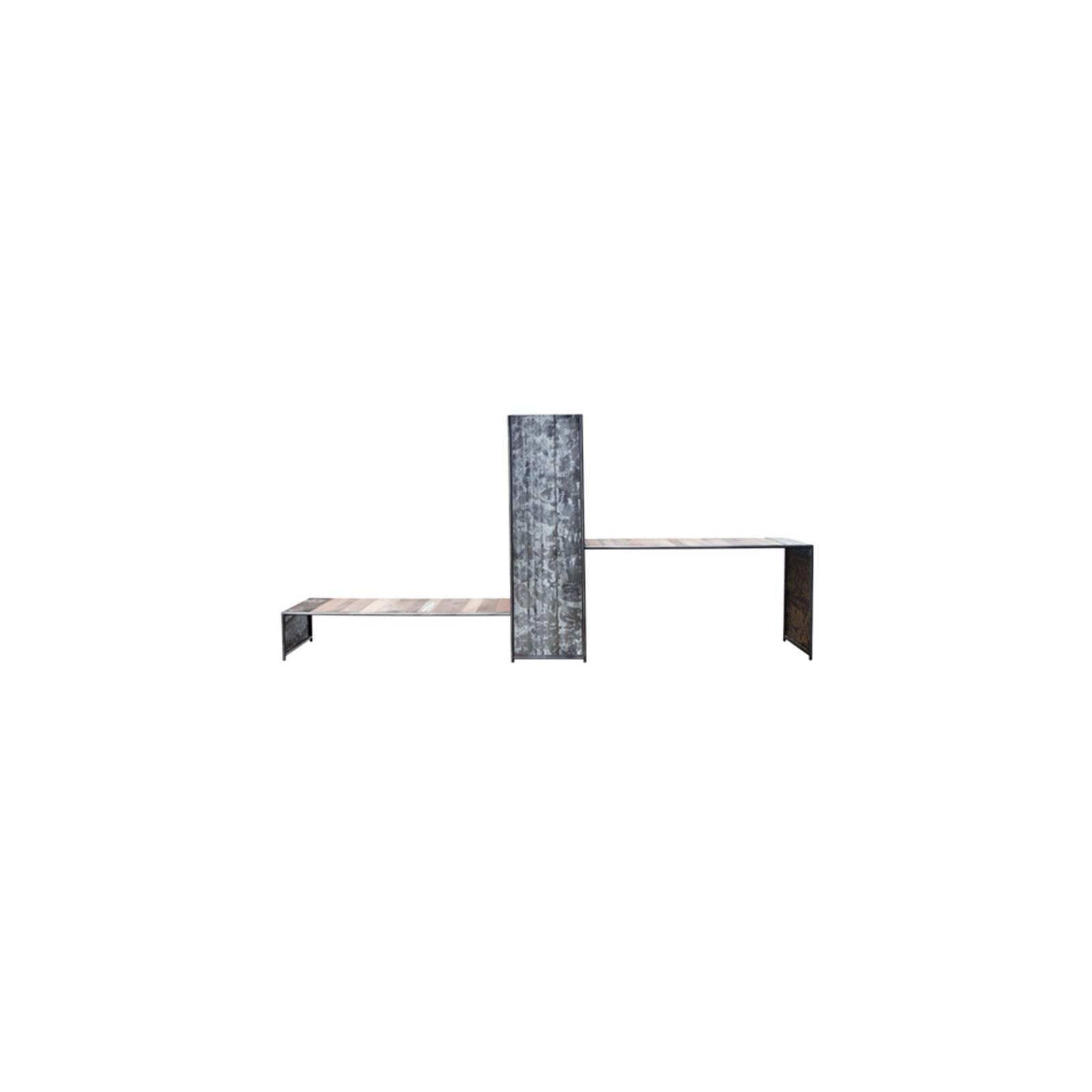 Bureau Luxor Teck - meuble bois massif