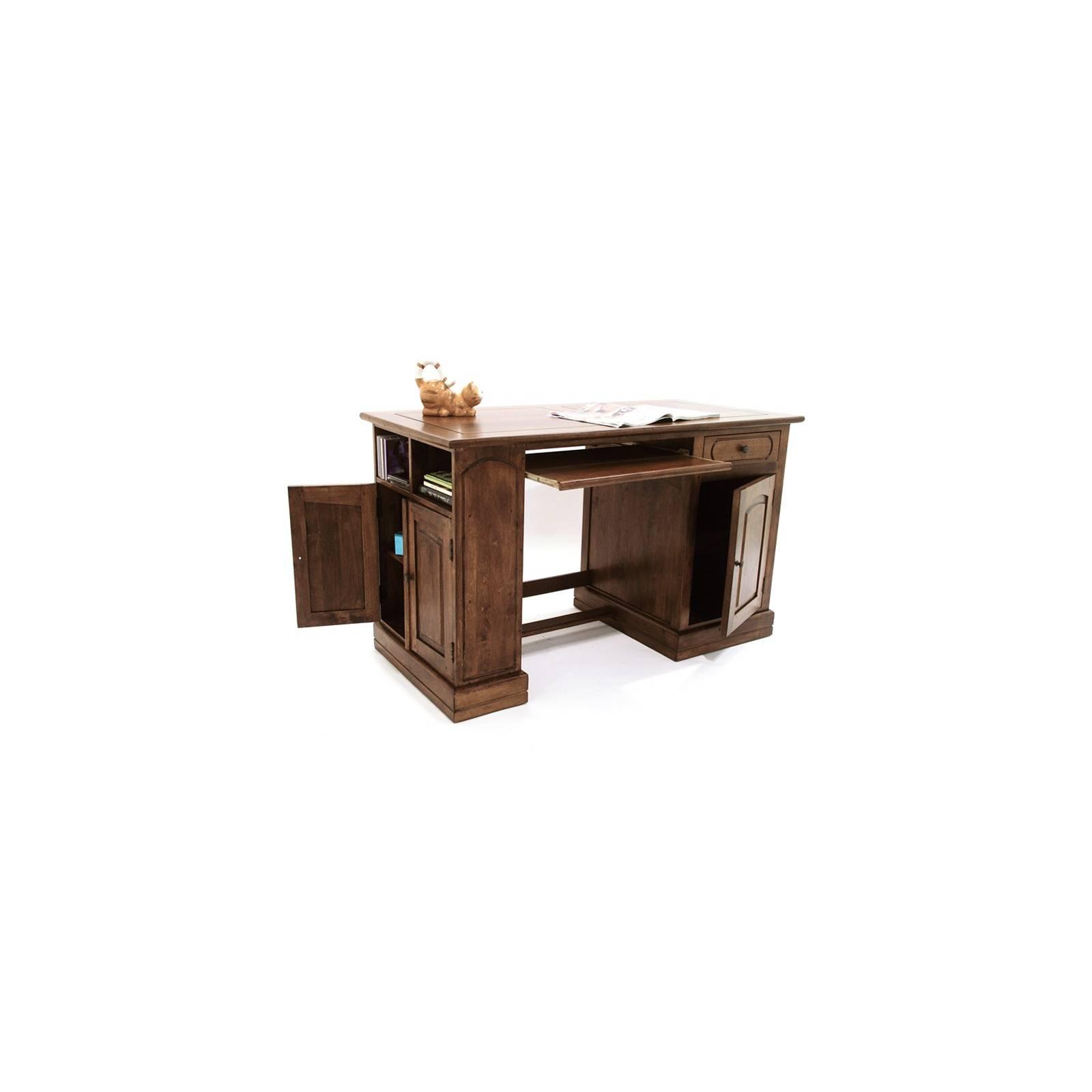 Bureau Multi Rangements Belle Epoque Hévéa - meuble style classique