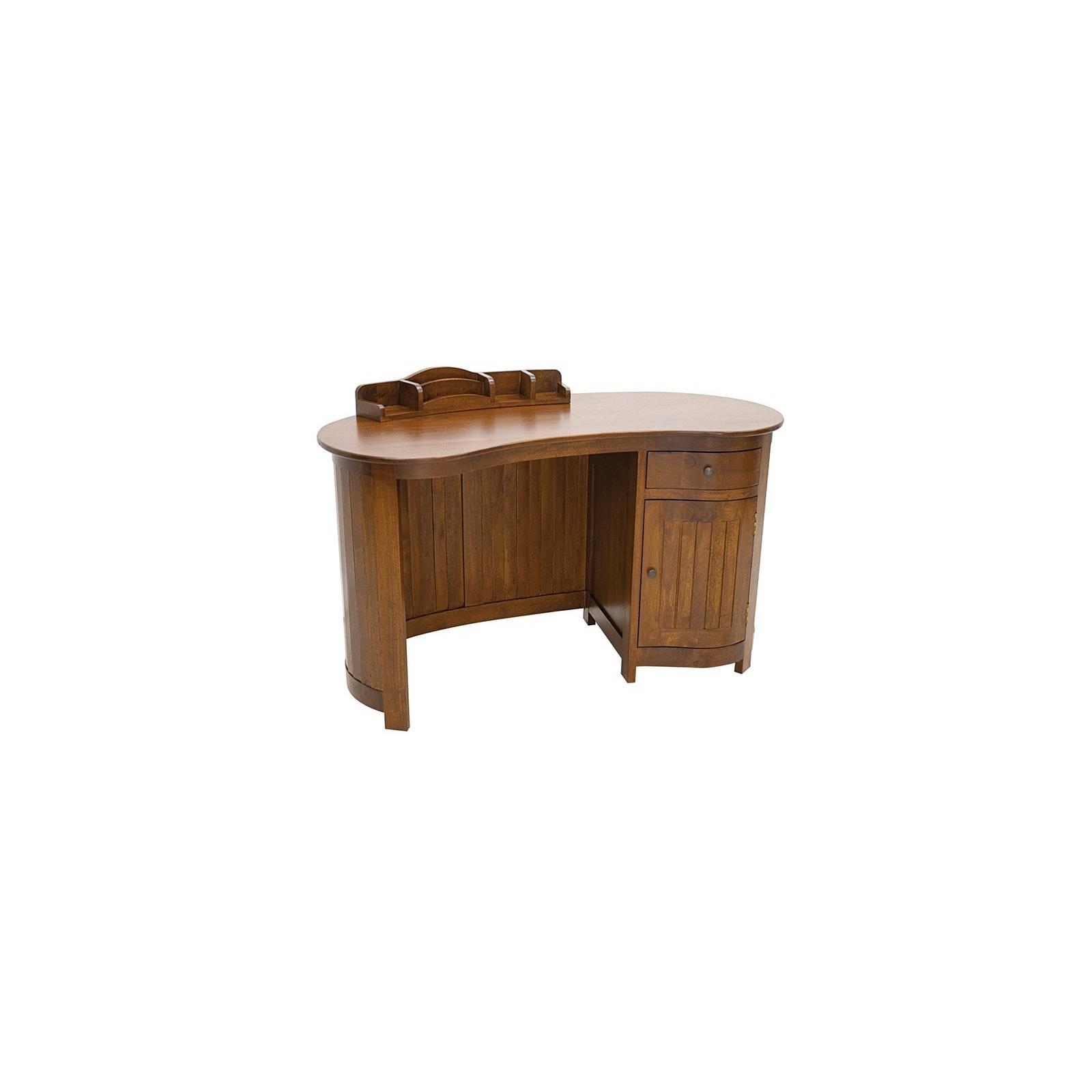 Bureau Océania Hévéa - meuble style colonial