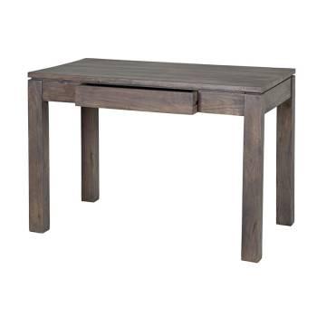 Bureau Tara Grisée Acacia - meuble design haut de gamme