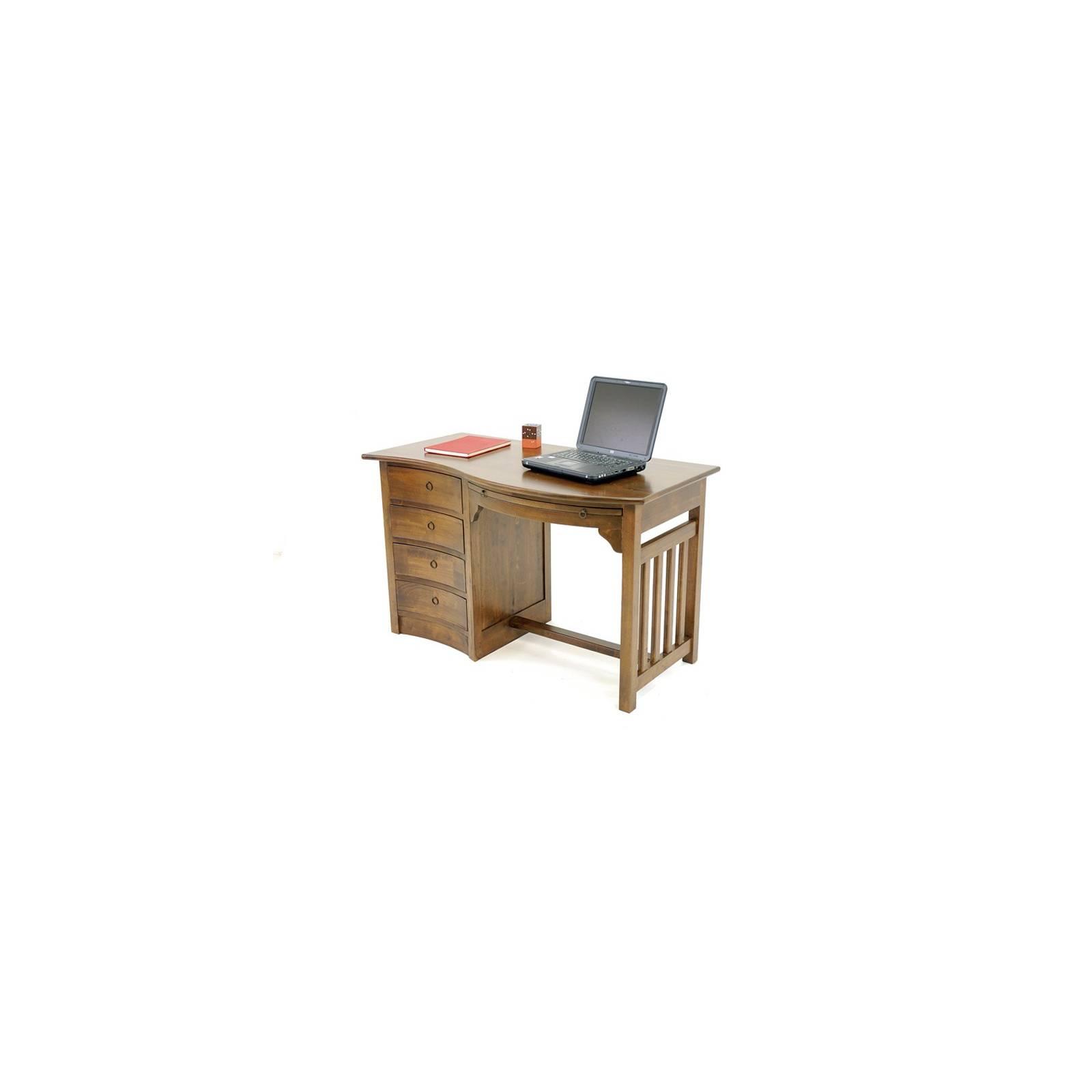 Bureau Vague Oceania Hévéa - meuble style colonial