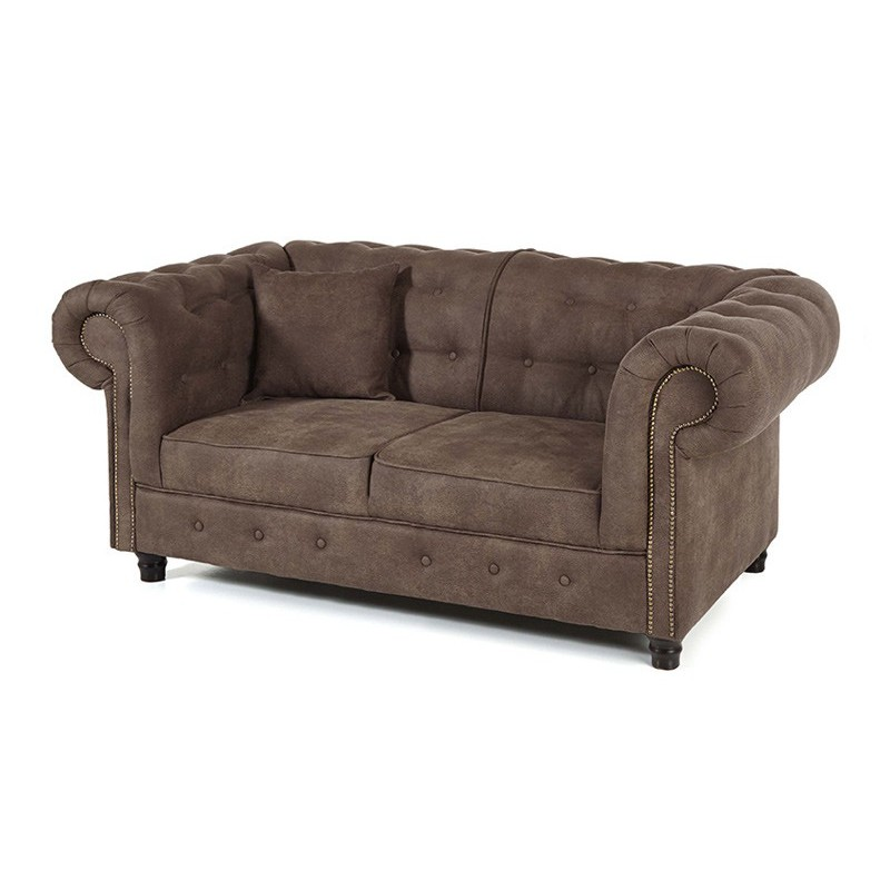 Canap chesterfield en tissu eh08 jornalagora - Canape places tissus ...