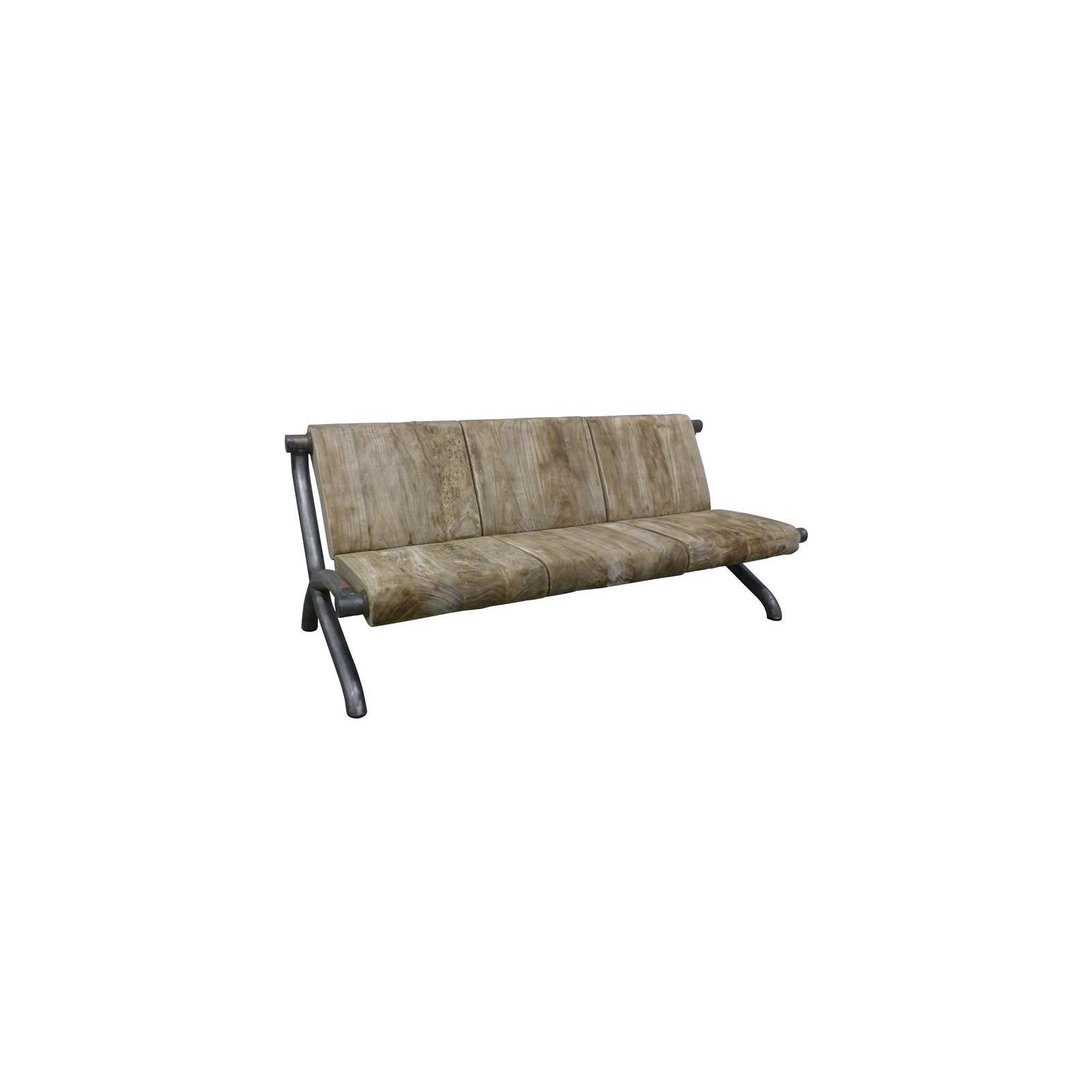 Canapé Victor Pin - meuble style rétro
