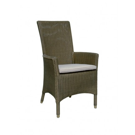 Chaise Accoudoirs Lloyd Loom Jefferson - vente de chaises