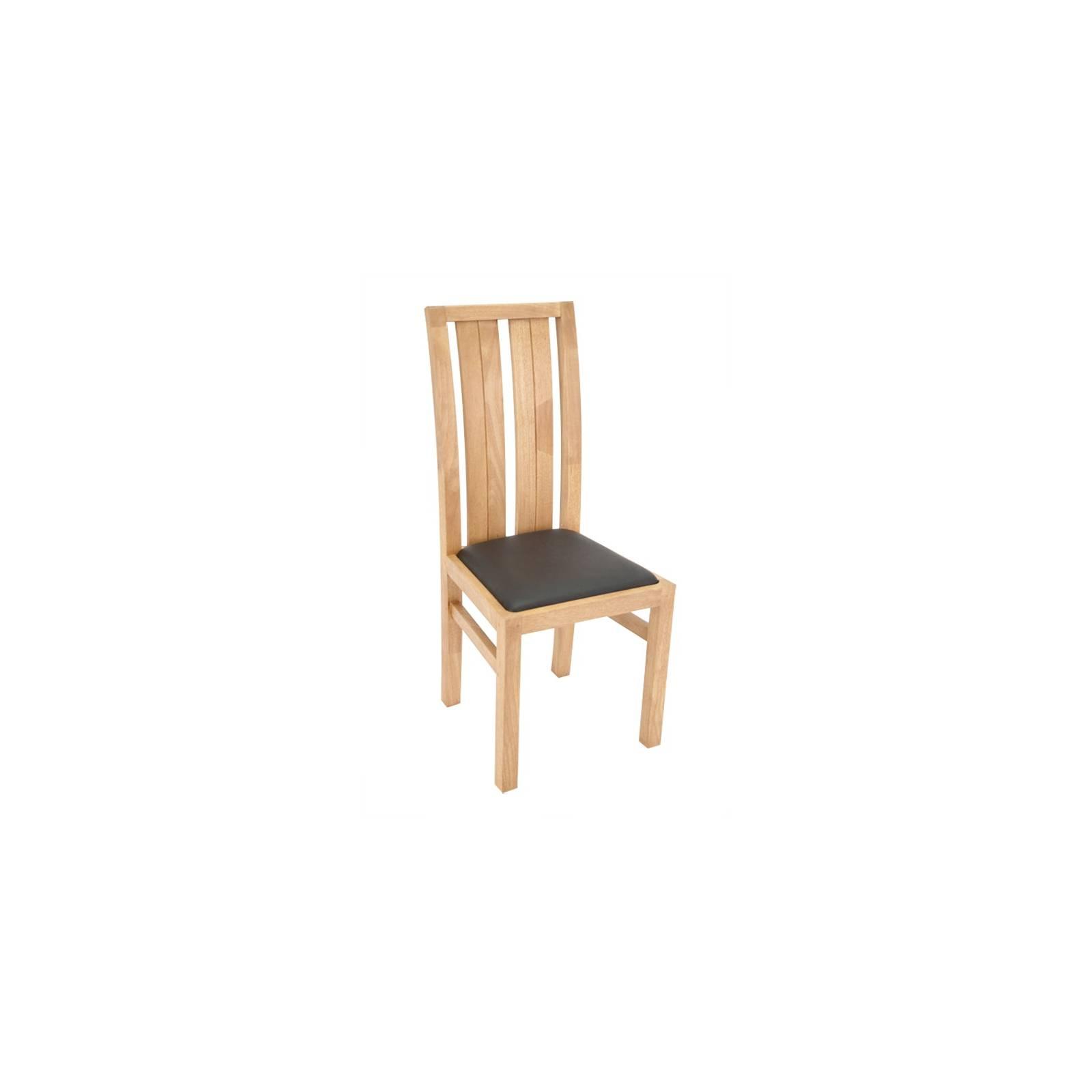 Chaise Broadway Hévéa - meuble bois massif
