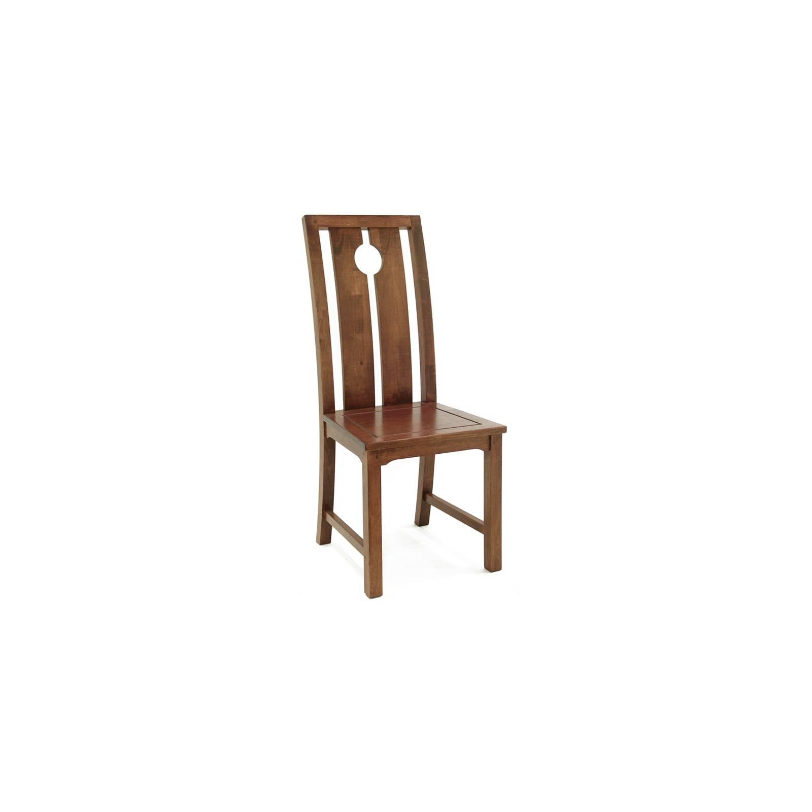 Chaise Chine Hévéa - meuble bois exotique