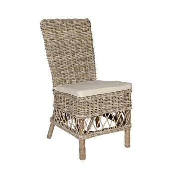 Chaise Largo Rotin