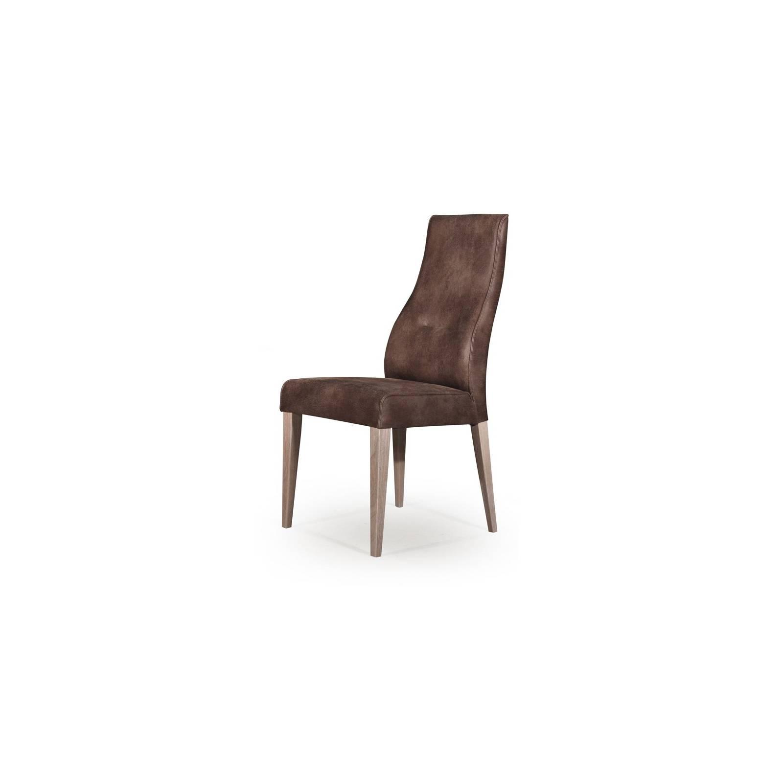 Chaise Milan Marron Cuir - achat chaises