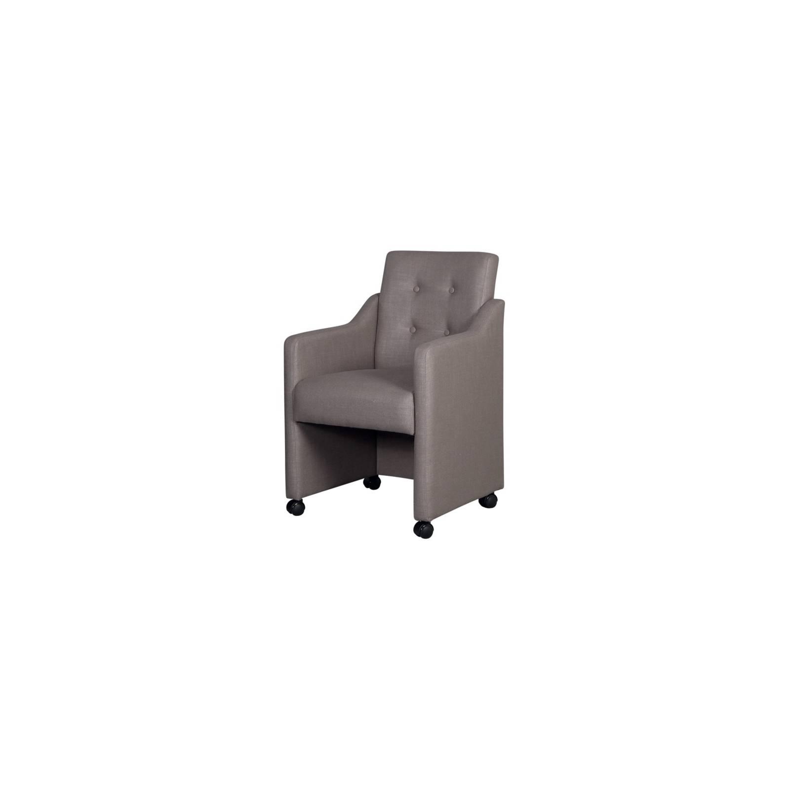 Chaise Monet Tissu - chaise à roulettes