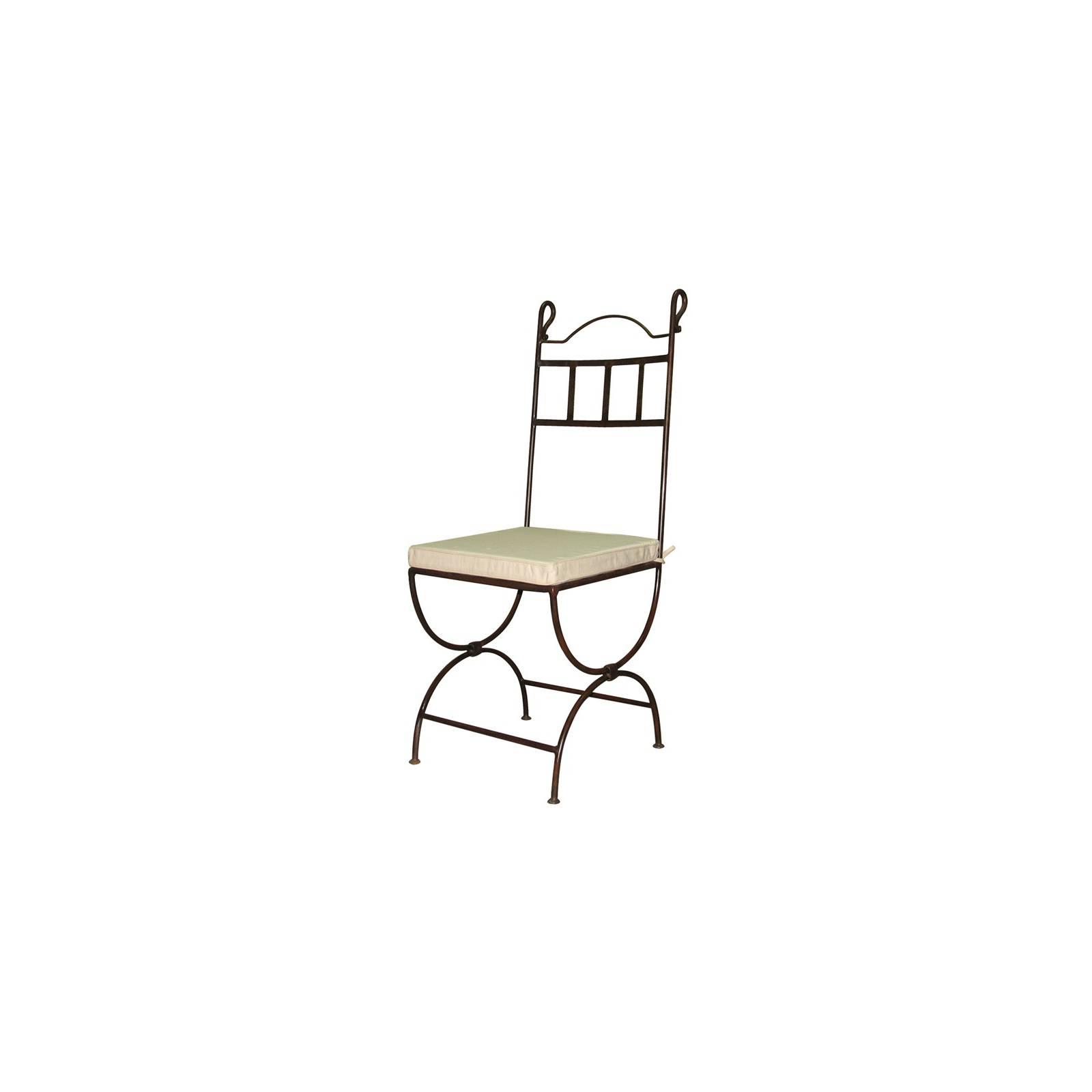 Chaise Sef Fer Forgé - meuble déco