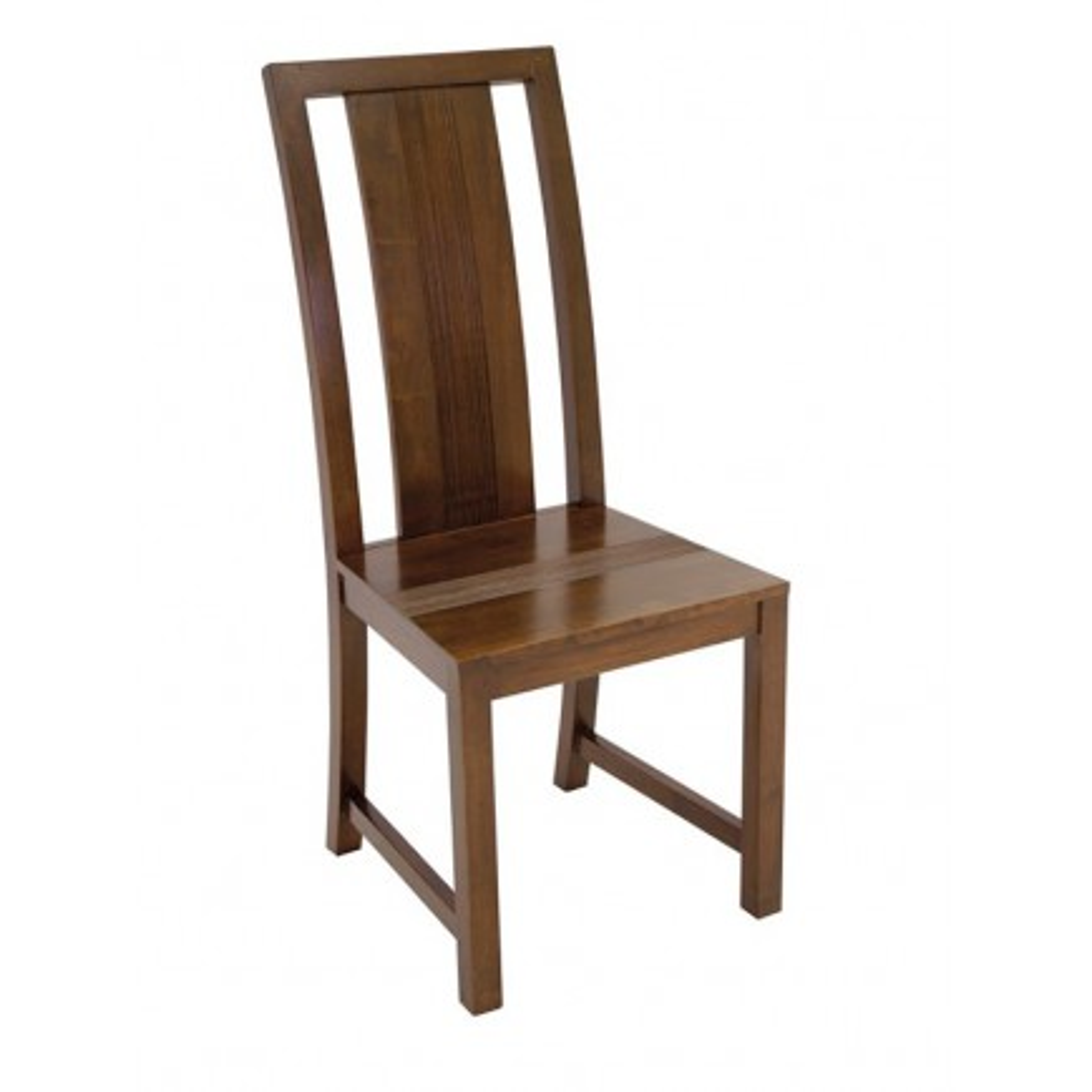 Chaise Striée Siguiri Hévéa - meuble colonial