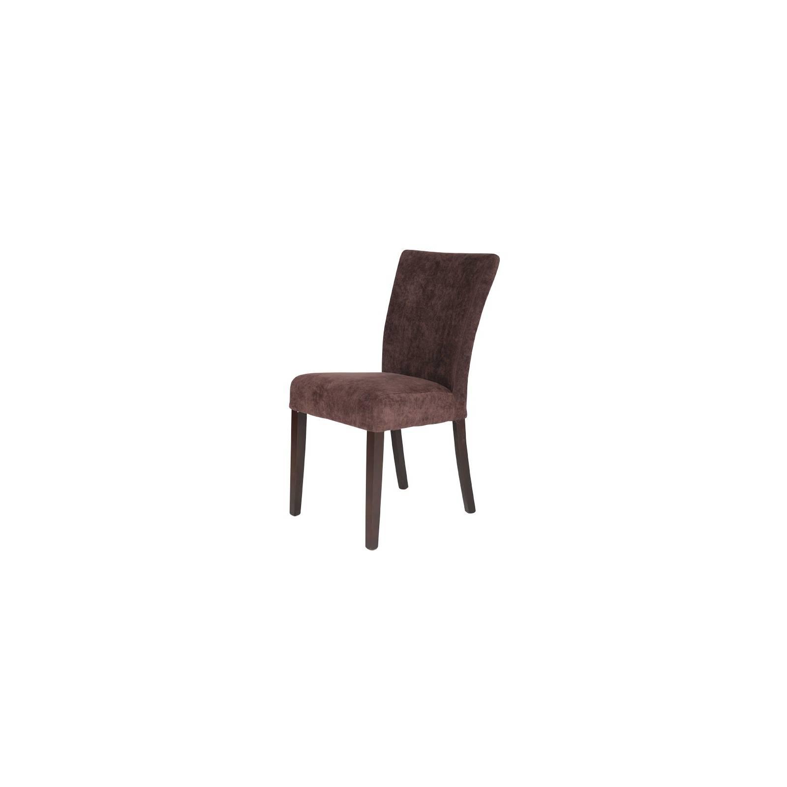 Chaise Sydney Chocolat Tissu - chaise design