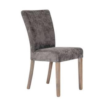 Chaise Sydney Grise Tissu - achat chaises