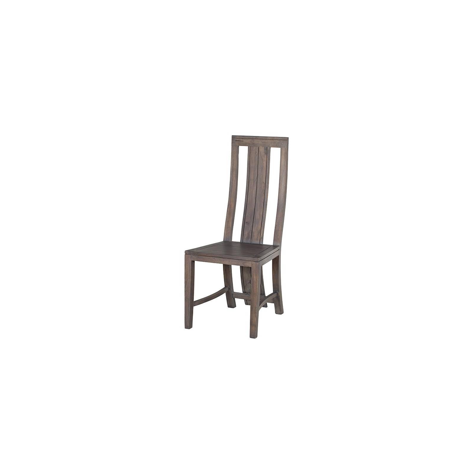 Chaise Tara Grisée Acacia - meuble design haut de gamme