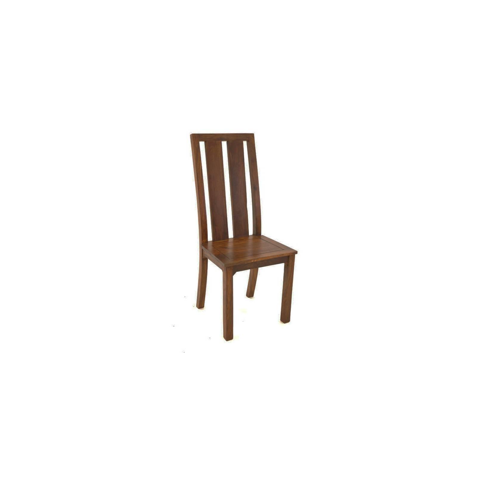 Chaise Palissandre Zen - meubles bois exotique
