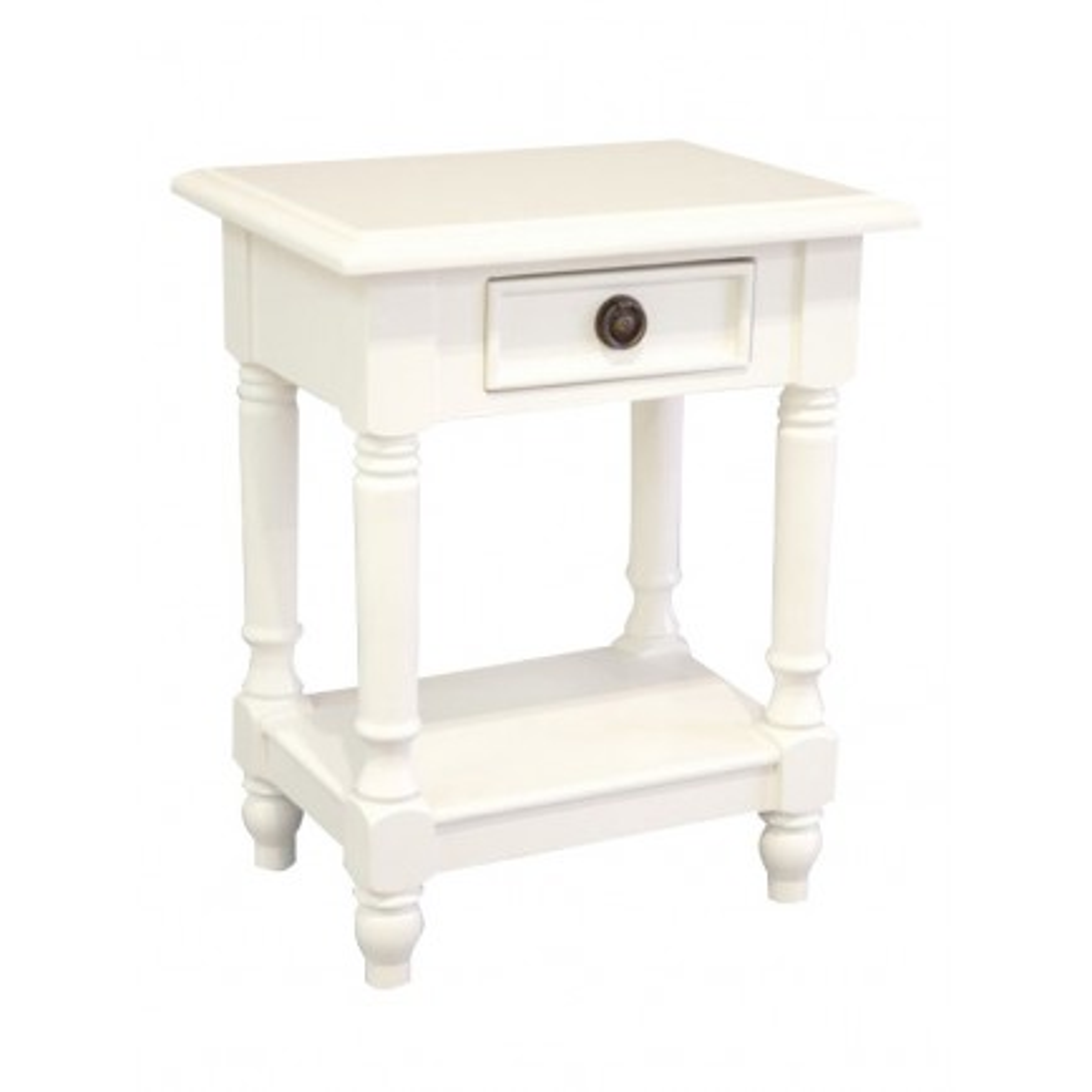 Chevet Charme Hévéa - meuble style classique