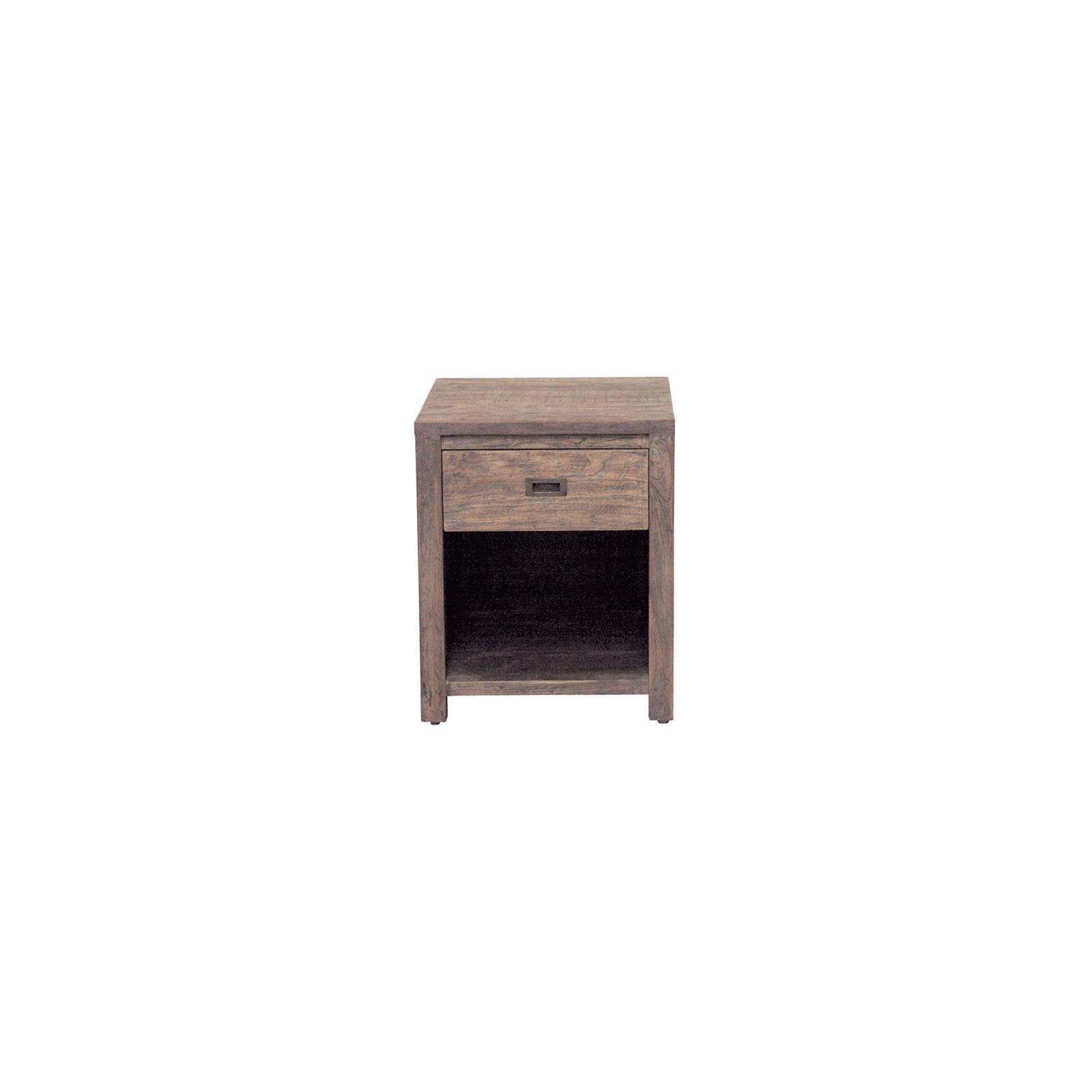 Chevet Felix Teck Recyclé - meuble bois massif
