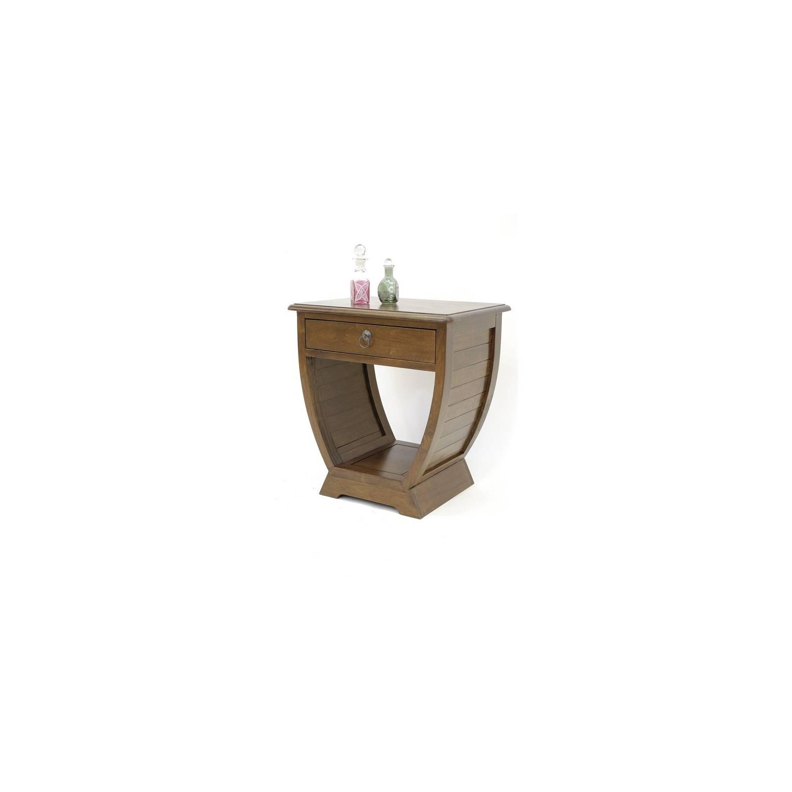 Chevet Panama Hévéa - meuble bois massif